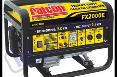 Spesifikasi Mesin Genset Bensin Falcon FX1000M